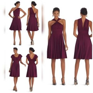 WHBM Genius Convertible Fit and Flare Dress